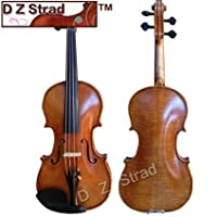 15 Handmade D Z Strad Viola model 400 with $800 Free Gift- handmade by prize winning luthiers [並行輸入品]
