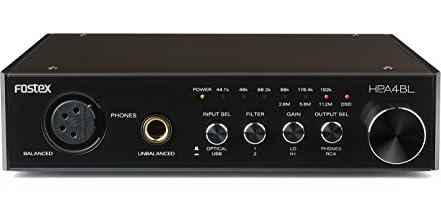 FOSTEXヘッドホンアンプ D/A変換器内蔵 ハイレゾ対応 HP-A4BL