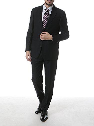 (アルマーニコレッツォーニ) ARMANI COLLEZIONI ウール100% シャドーストライプ シングル 2ツ釦 ノータック スーツ [【GAVCVGCAOC008】] [並行輸入品]