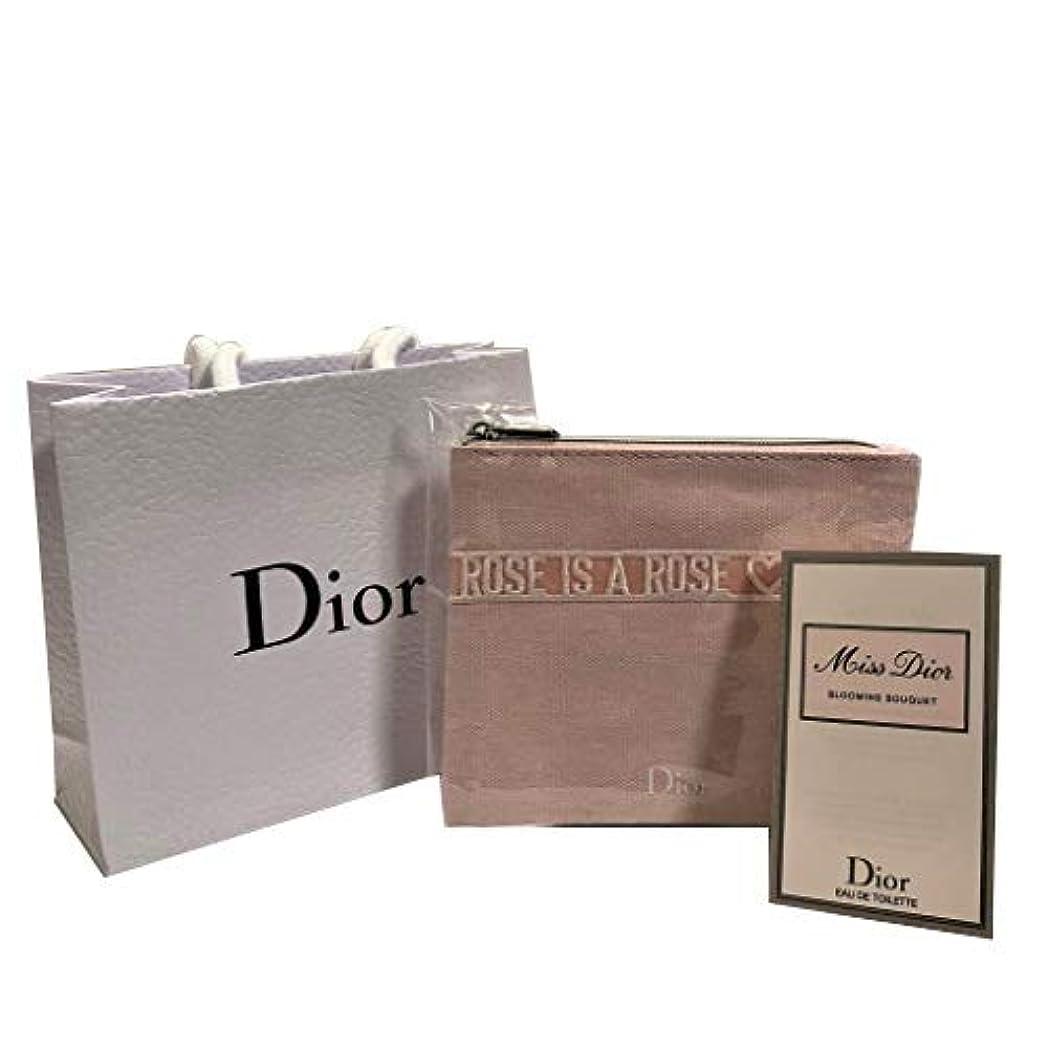 シダアサー圧縮Dior ディオール ミニポーチセット( ミス ディオール ブルーミング ブーケ EDT SP 1ml)
