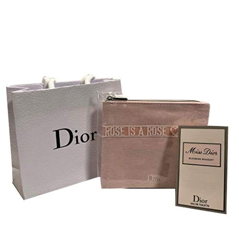 そうプレミアム指Dior ディオール ミニポーチセット( ミス ディオール ブルーミング ブーケ EDT SP 1ml)