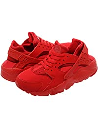 [ナイキ] NIKE AIR HUARACHE RUN GS UNIVERSITY RED/UNIVERSITY RED [並行輸入品]