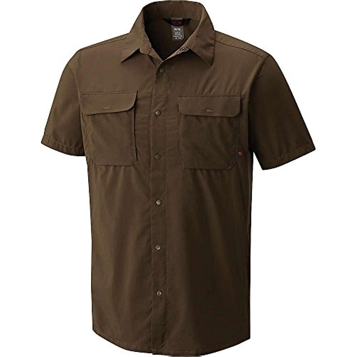 喜び肺セラーマウンテンハードウェア トップス シャツ Mountain Hardwear Men's Canyon Pro Short Darklands [並行輸入品]