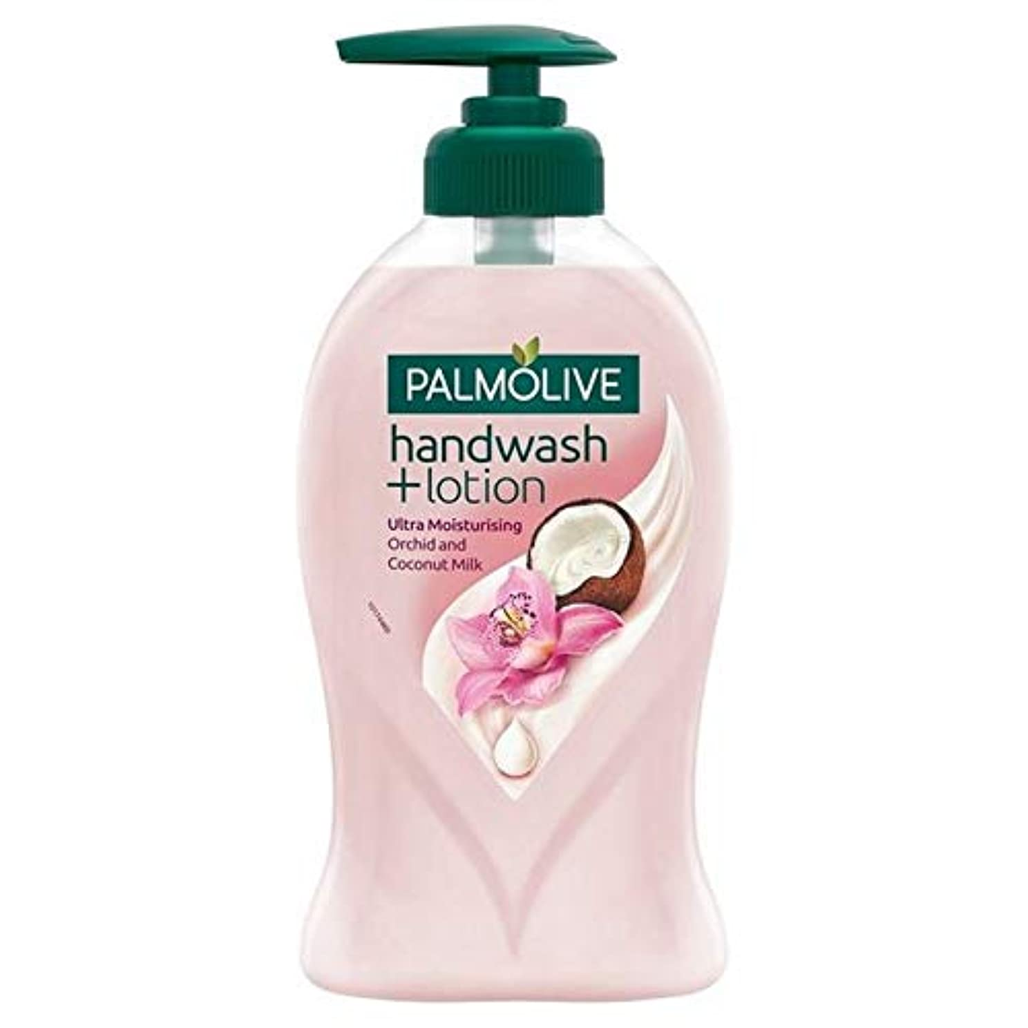 コロニーストライク掃く[Palmolive ] Palmolive社手洗い+ローション蘭&ココナッツミルク250ミリリットル - Palmolive Handwash + Lotion Orchid & Coconut Milk 250ml [並行輸入品]