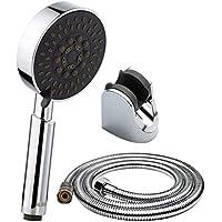 多機能シャワーヘッドシャワーセット浴室シャワー水ヒーターシャワーヘッドハンドヘルド大パネルシャワーシャワーヘッド壁掛けシャワーラック