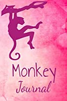 Monkey Journal: Animal Lovers Gift. Pretty Lined Notebook & Diary For Writing And Note Taking For Your Special Day.(120 Blank Lined Pages - 6x9 Inches)