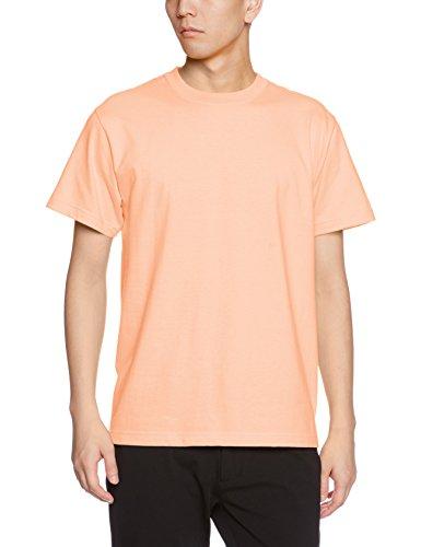 ユナイテッドアスレ 5.6オンス ハイクオリティー Tシャツ 500101 574 アプリコット XXL