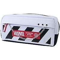 マーベル[筆箱]トレンド BOX ペンケース/シルバーチェーン WH MARVEL