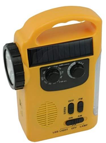 ZAZ ラジオライト エマージェンシーライト 太陽光充電 手動充電可能 手巻き充電 災害用 キャンプ...