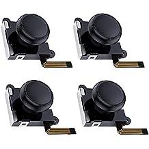 Switch NS Joy-con用 コントロール 右/左 センサーアナログジョイスティック Joy-conスティック交換 修理パーツ4個