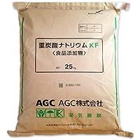 AGC製 重曹 25kg [02] 【同梱不可】炭酸水素ナトリウム 食品添加物 国産重曹 NICHIGA(ニチガ)