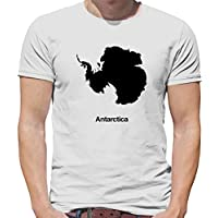 Antarctica Silhouette - Mens T-Shirt - 13 Colours