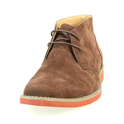 [シュベック] SVEC 25種類から選ぶ カジュアルブーツ ゴア チャッカブーツ ショットブーツ メンズ 靴 SPB016-6 ダークブラウン 26.0cm