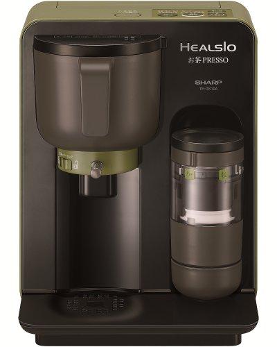 SHARP HEALSIO お茶PRESSO ブラック系 TE-GS10A-B