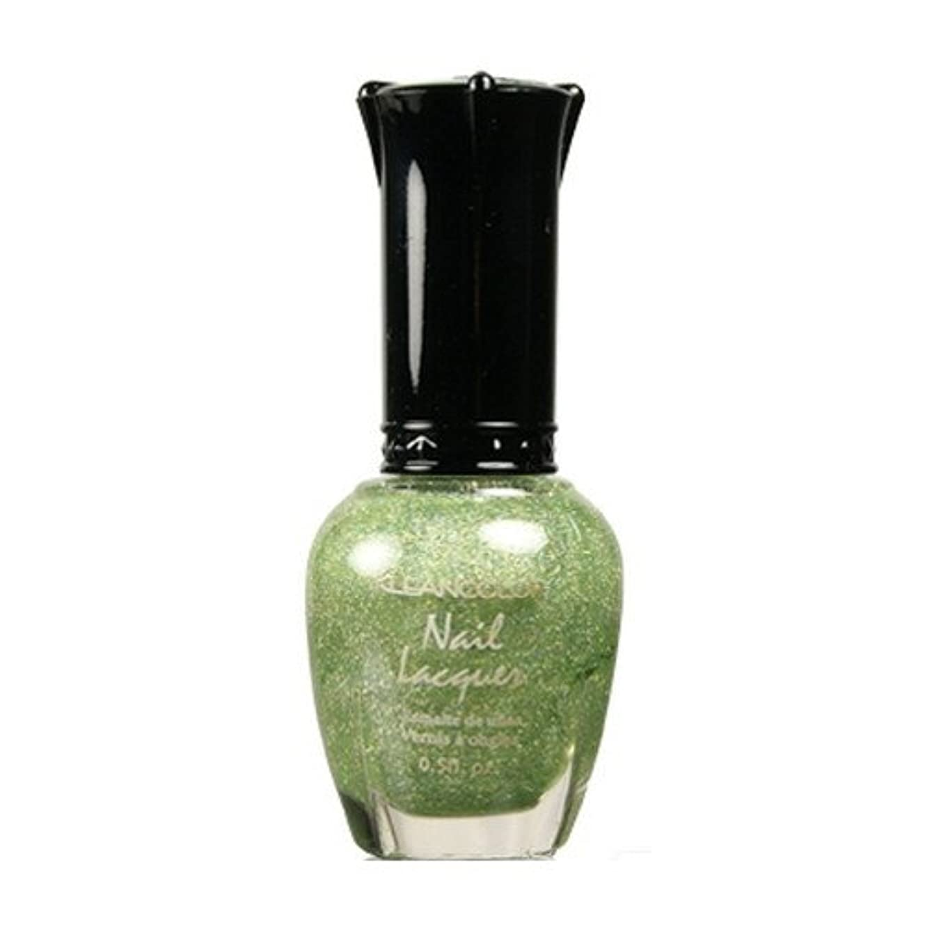 十一トンバスタブKLEANCOLOR Nail Lacquer 3 - Holo Green (並行輸入品)