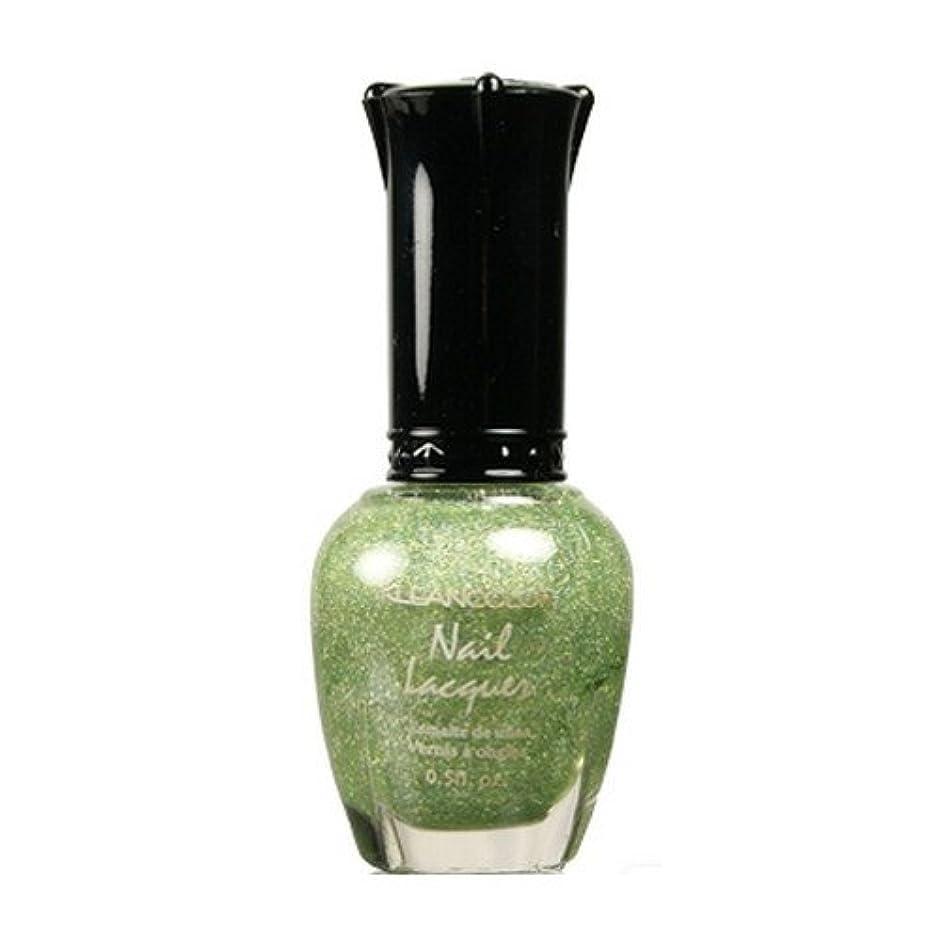 変化するひまわり国(6 Pack) KLEANCOLOR Nail Lacquer 3 - Holo Green (並行輸入品)