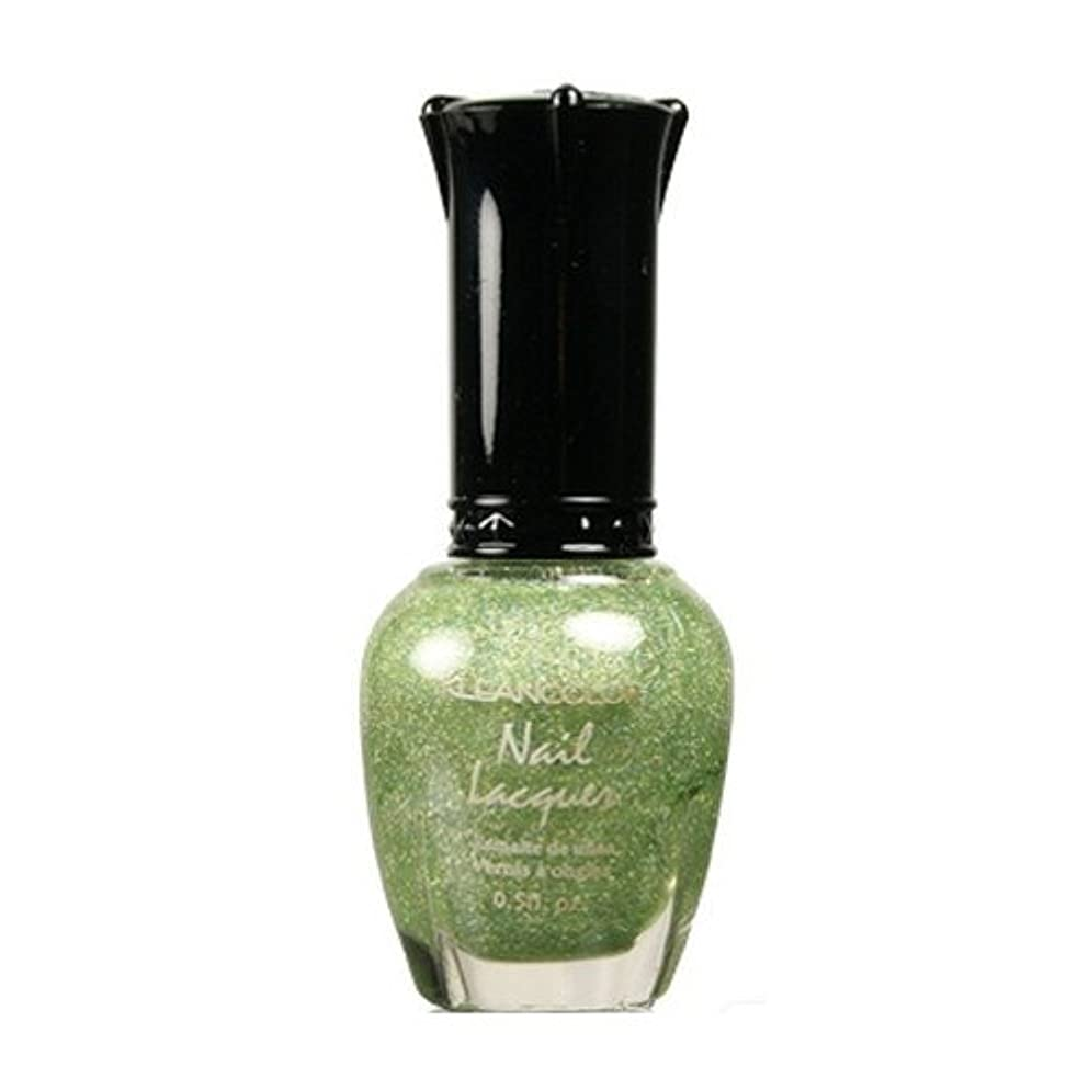 KLEANCOLOR Nail Lacquer 3 - Holo Green (並行輸入品)