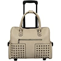 Mellow World Milly Hb17319, Carry-on Rolling Laptop Tote Luggage, 21-inch, One Size
