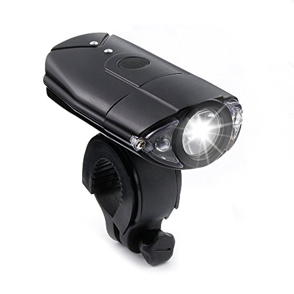ラップレスリング傘Thorfire 自転車用ライト 高輝度 1200ルーメン 自転車ライト フロントUSB 充電式 サイクリングバイクライト 防水 3照明モード 山 ロードバイク ヘッドライト 懐中電灯 安全サイクリング用