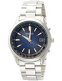 [セイコー セレクション]SEIKO SELECTION 腕時計 SEIKO SELECTION ソーラー電波 サマー限定 限定700本 ワールドタイム表記 青文字盤 サファイアガラス SBTM275 メンズ