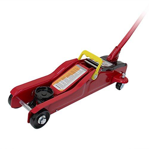 フロアジャッキ 2t 2トン ジャッキ 油圧ジャッキ 油圧式 ガレージジャッキ ローダウン車対応 コンパクト