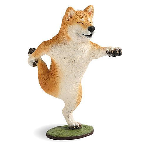 ANIMAL LIFE 犬のヨガマスター [1.柴犬](単品)