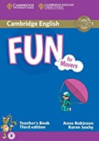 Fun for Movers Teacher's Book with Audio by Anne Robinson Karen Saxby(2015-01-19)