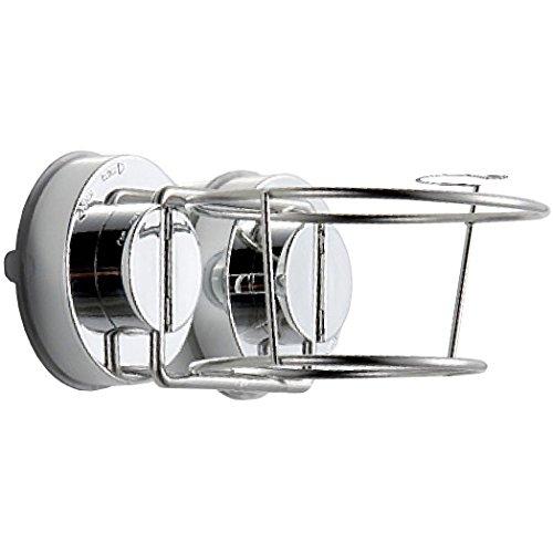 Fypo ドライヤーホルダー ヘアドライヤースタンド 吸盤 壁掛け 収納ラック しっかり固定 高耐荷重 整理整頓吸盤ホルダー
