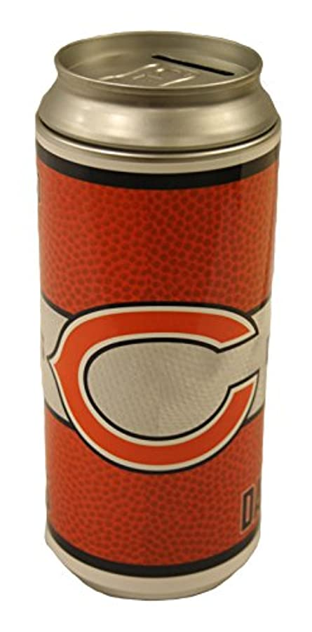 粘着性歩道スカイChicago Bears NFL Soda Can Bank