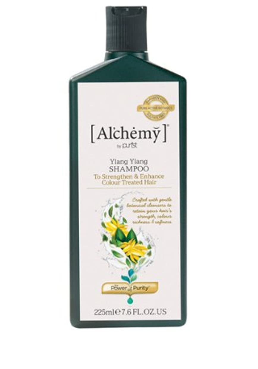 偽タオル軽【Al'chemy(alchemy)】アルケミー イランイランシャンプー(Ylang Ylang Colour Care Shampoo)(カラーした髪用)225ml