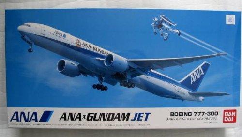 1/200 Boeing777-300&RX-78ガンダム