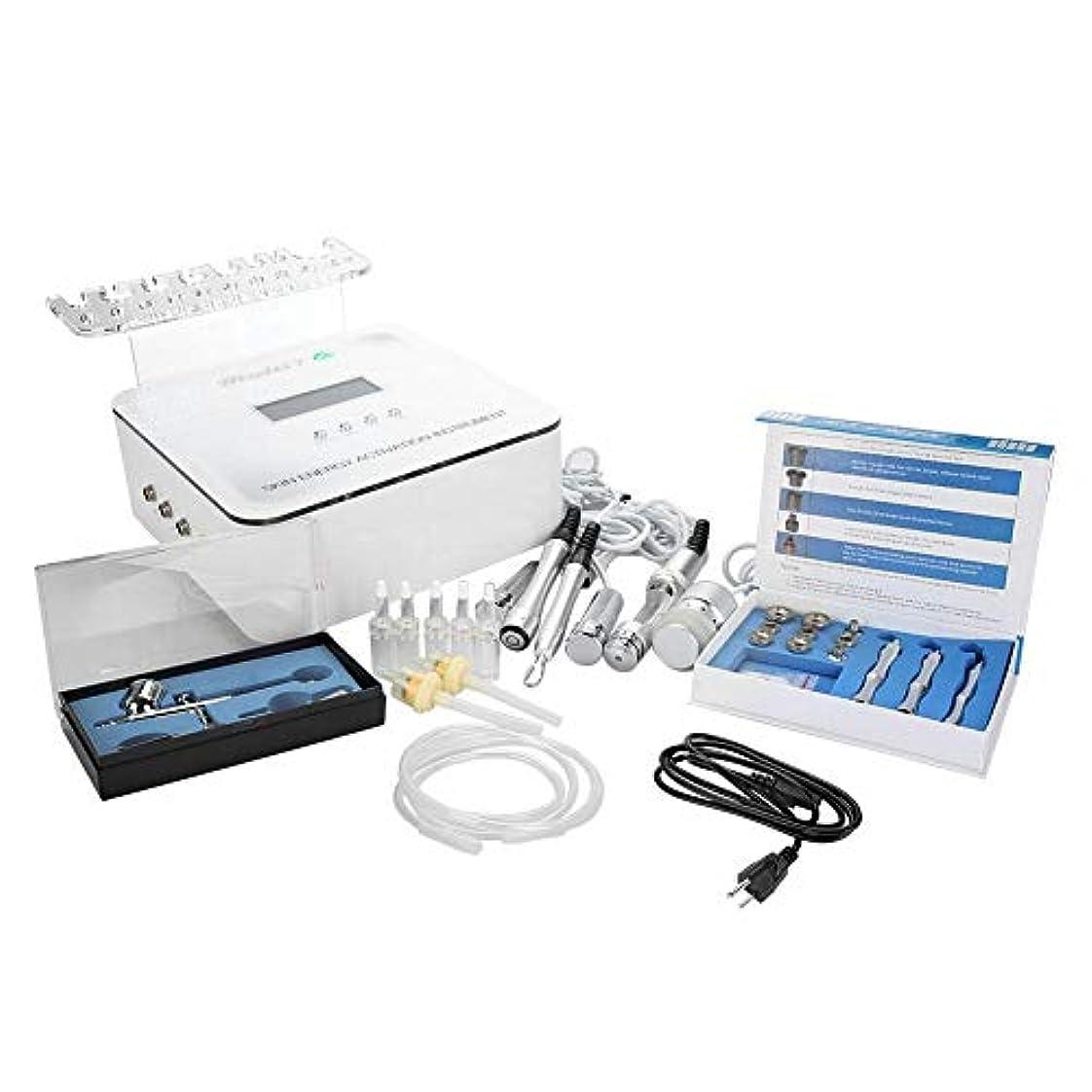 ジャグリング分析的なスリンクスキンケア美容機、肌の若返りのためのRFマイクロ電気パルス水素酸素ジェットスプレー、フェイスリフティング(米国のプラグ)