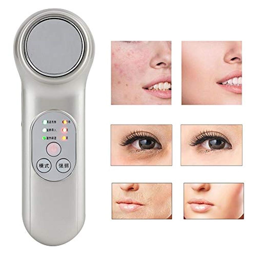 達成可能騒ブルーベル手持ち型の顔のマッサージャーの美装置、気孔の洗剤の皮の若返り機械