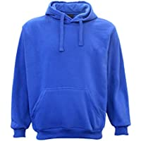 Adult Unisex Men's Pullover Plain Hoodie Hooded Jacket Sweatshirt Sports Jumper