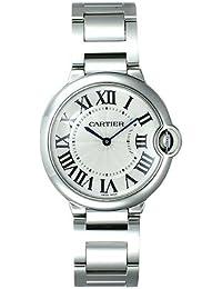 (カルティエ) CARTIER 腕時計 バロンブルー MM W69011Z4 シルバー 36mm ボーイズ [並行輸入品]