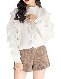(S.W.グロッシィ) S.W.Grossy レディース フェミニン デザイン フレア セーター