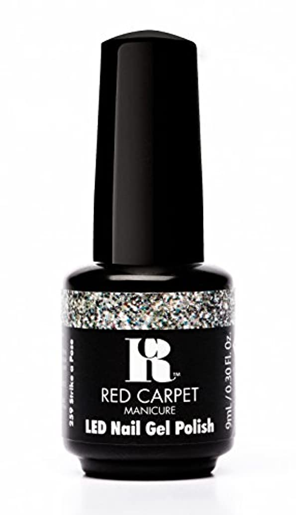 誇張する警戒ブランチRed Carpet Manicure - LED Nail Gel Polish - Trendz - Strike A Pose - 0.3oz / 9ml