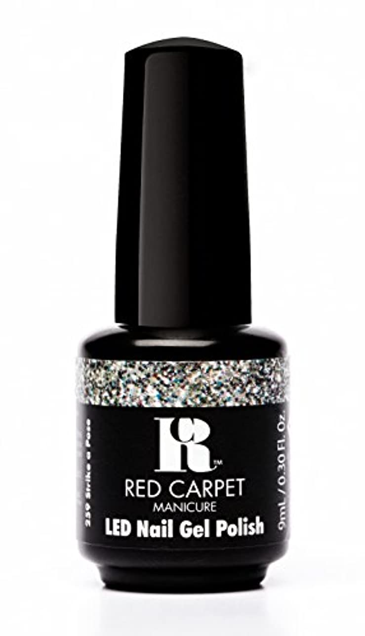 入射橋恐れRed Carpet Manicure - LED Nail Gel Polish - Trendz - Strike A Pose - 0.3oz / 9ml