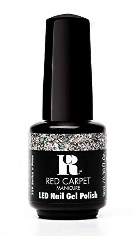 バリー趣味突然Red Carpet Manicure - LED Nail Gel Polish - Trendz - Strike A Pose - 0.3oz / 9ml