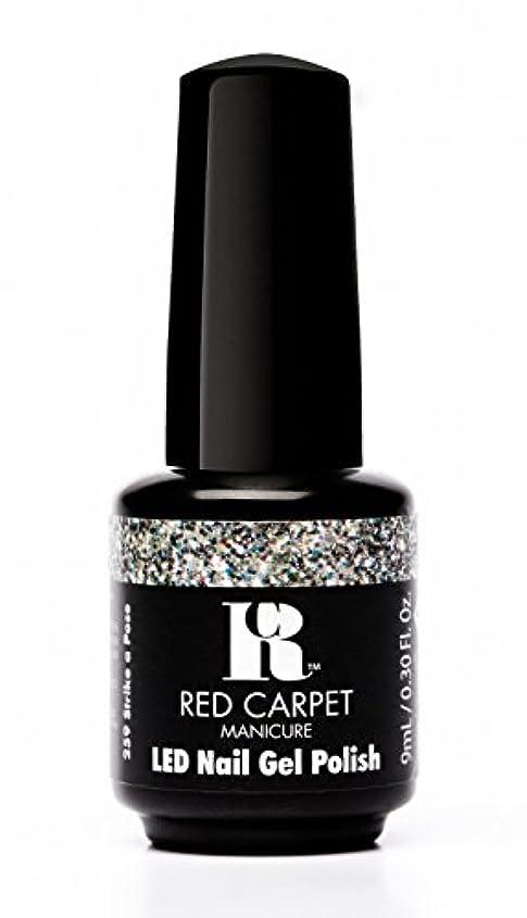 アラバママルクス主義者ライバルRed Carpet Manicure - LED Nail Gel Polish - Trendz - Strike A Pose - 0.3oz / 9ml