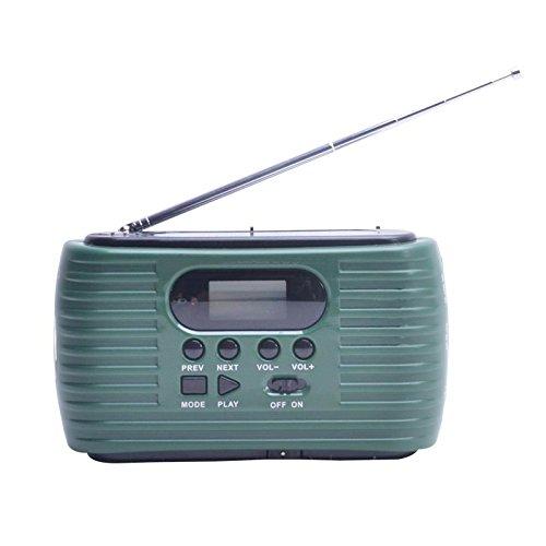 多機能防災ラジオ FM/AM受信対応 2300mAh大容量バッテリー防災ラジオ コンパクトサイズ ス...