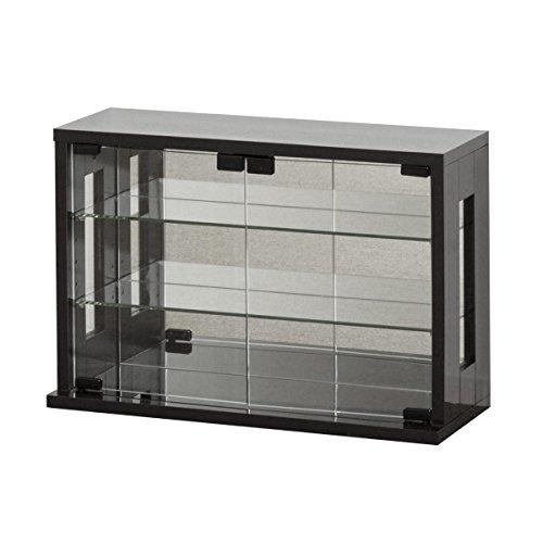 クロシオ ガラスケース ダークブラウン 幅60×奥行23(20)×高さ40cm