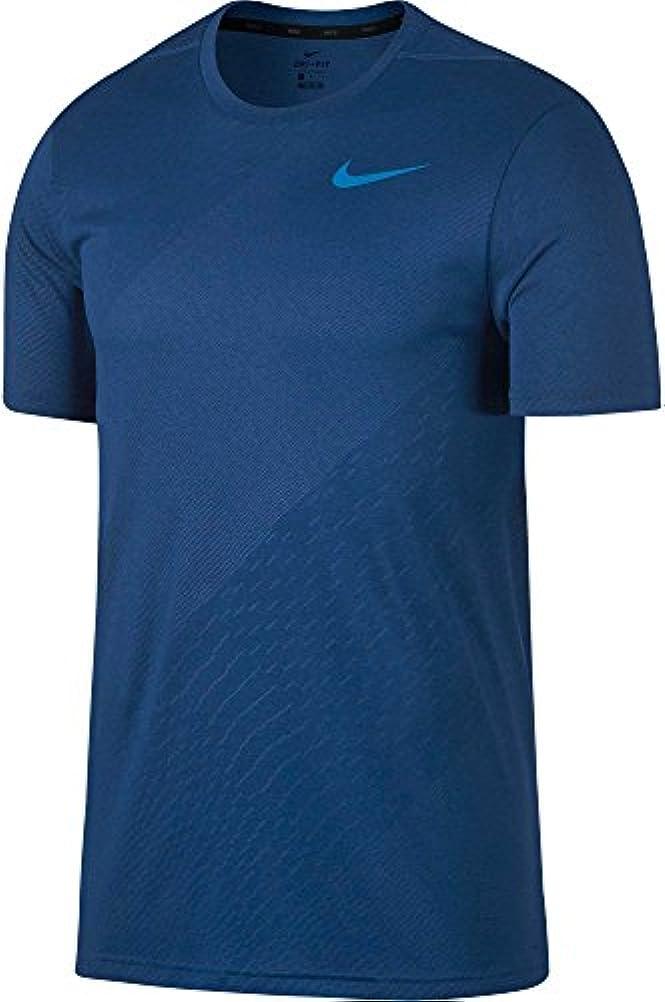 底バースト表示ナイキ トップス シャツ Nike Men's Legend Embossed T-shirt GymBluLtPh [並行輸入品]