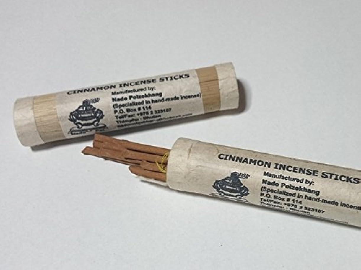 母全く突き出すNADO/ナドー バンブーシナモン インセンス Cinnamon Incense 約18本入り