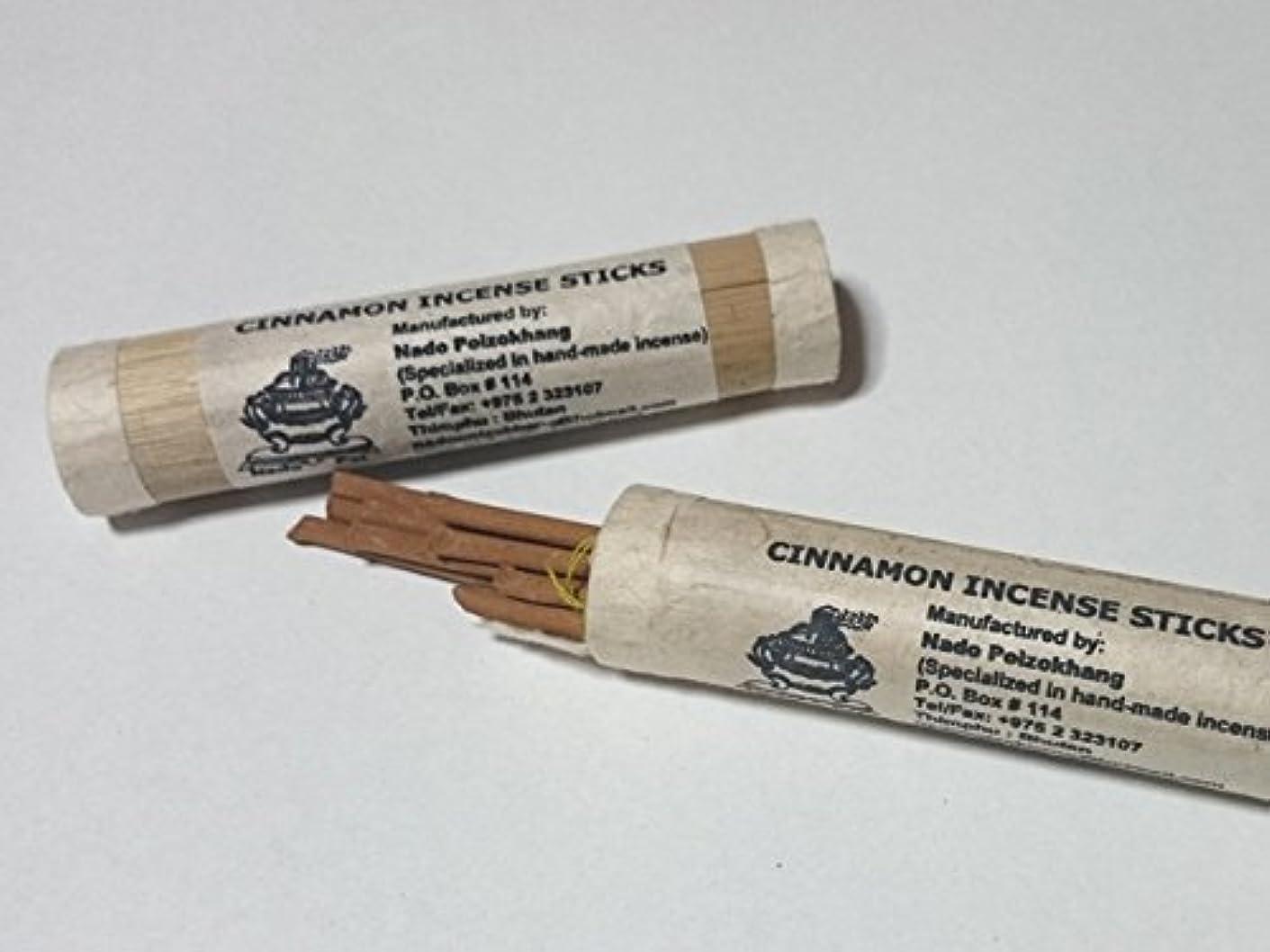 歩道アクティブハッチNADO/ナドー バンブーシナモン インセンス Cinnamon Incense 約18本入り