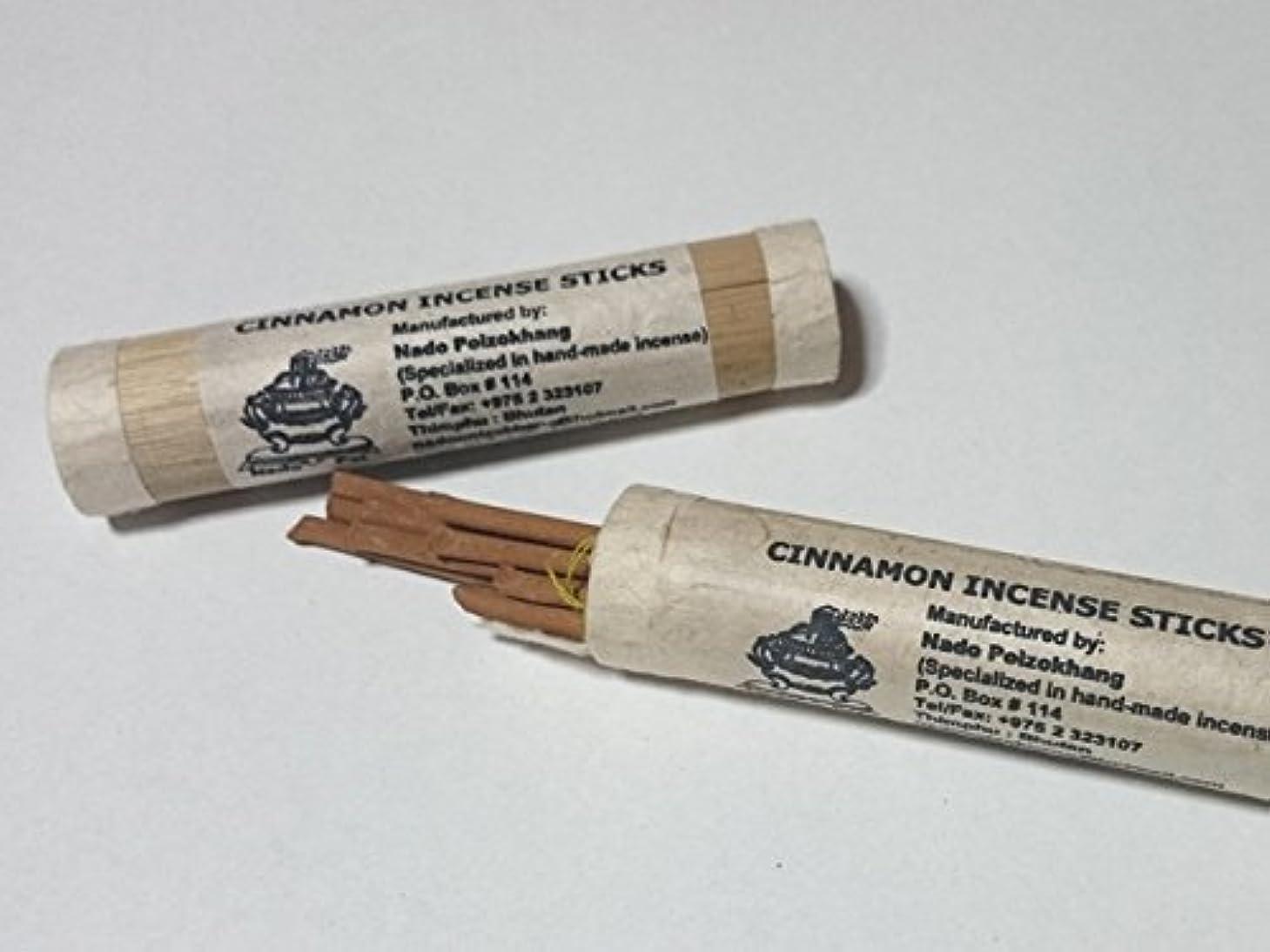 ペースト弁護人返還NADO/ナドー バンブーシナモン インセンス Cinnamon Incense 約18本入り