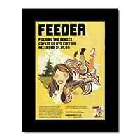 FEEDER - Pushing The Senses Mini Poster - 28.5x21cm