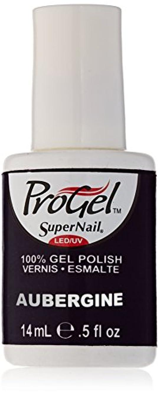 垂直ボイド主導権SuperNail ProGel Gel Polish - Aubergine - 0.5oz/14ml