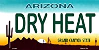 LP - 1083 AZ Arizona Dry Heat License Plate - 3106