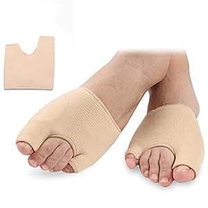 Bigmind 外反母趾,内反小趾 サポーター シルク外反母趾 小指シルクサポーターグッズ サポート足指広げる 親指サポーター